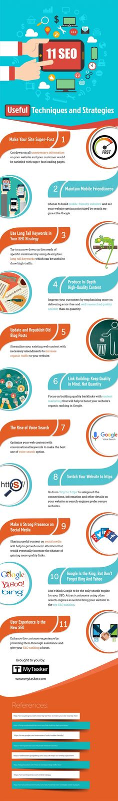 11 #SEO Techniques Even Beginners Can Implement to Rank Higher on Google #Infographic