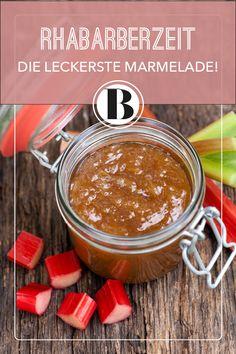 Rhabarber-Marmelade wie von Oma - das schmeckt nach Frühling! Wir zeigen euch, wie euch die klassische Konfitüre gelingt, und haben viele Tipps für euch.