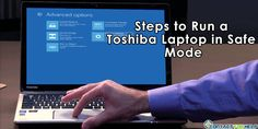 how to start toshiba laptop in safe mode