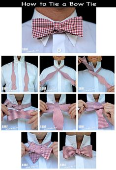 How to Tie a Bow Tie: A Step By Step Photo Tutorial