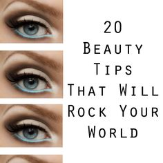 20 beauty tips that will rock your world. #beauty #tips