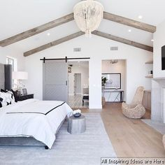 Nice 30 Beautiful Modern Farmhouse Bedroom Master Suite Ideas https://roomaniac.com/30-beautiful-modern-farmhouse-bedroom-master-suite-ideas/