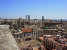 From Sant Just i Pastor New York Skyline, Barcelona, City, Travel, Pastor, Viajes, Barcelona Spain, Cities, Destinations