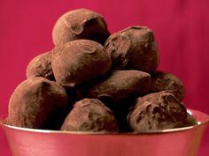 Receta de Trufas de Chocolate de dos ingredientes
