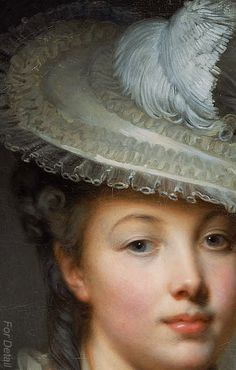 Jean-Baptiste Greuze The White Hat 1780 Classic Paintings, Science Art, Animal Paintings, Oil Paintings, Indian Art, Modern Art, Contemporary Art, Portraits, Classic Image