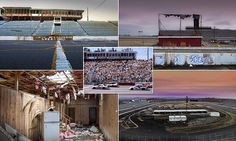 Photojournalist captures striking photos of abandoned NASCAR track