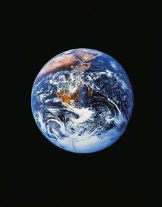 Full Earth From Space. The most beautiful planet in the universe!