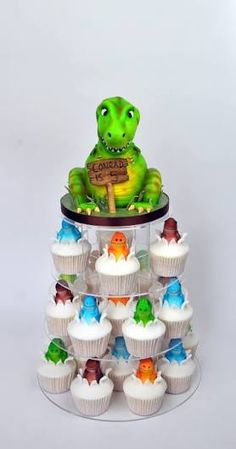 Image result for dinosaur cupcakes