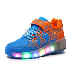ultra-light single wheel skating LED light shoes 2016 – €39.19