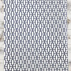 Double Roll Navy White Modern Contemporary retro Geometric Designer Wallpaper #Norwall