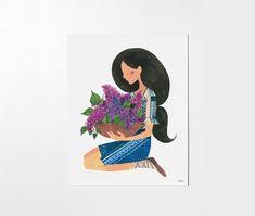 LILACS - 8x10 art print