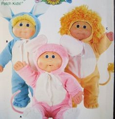 Butterick Pattern 3565 Cabbage Patch Kids Animal Costumes: Lion, Rabbit, Mouse by Butterick Pattern Service, http://www.amazon.com/dp/B007AWQW7Q/ref=cm_sw_r_pi_dp_F32Srb16XW6Y7