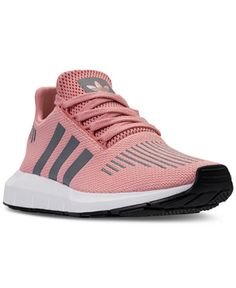 13e70c8b2916f adidas Women s Swift Run Casual Sneakers from Finish Line   Reviews -  Finish Line Athletic Sneakers - Shoes - Macy s