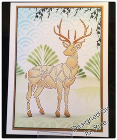Mix and Match with stencils from Claritystamps