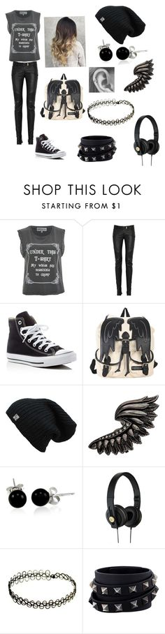 """Angle with a shot gun"" by april-25-2024 ❤ liked on Polyvore featuring Wildfox, Balmain, Converse, Roberto Cavalli, Bling Jewelry, Valentino and supernatural"