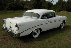 1956 Chevy Bel Air, Chevrolet Bel Air, My Dream Car, Dream Cars, Old School Cars, Amazing Cars, Car Pictures, Custom Cars, Cool Cars