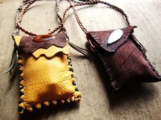 Sacred medicine pouch FILLED to the brim with organic sacred herbs,resins,vials and gemstones custom order