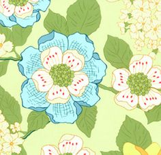 Wallflowers from Michael Miller by StitchStashDiva on Etsy