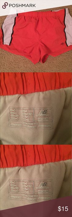 New balance running shorts The color is Coral .New balance running shorts Shorts