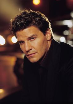 David Boreanaz (pronounced /bɔːriˈænəz/, Italian: [boɾeˈaːnad͡z]; born May 16, 1969) is an American actor, television producer, and director, known for his role as the vampire Angel on the supernatural drama series Buffy the Vampire Slayer and Angel, and as FBI Special Agent Seeley Booth on the television crime drama Bones.
