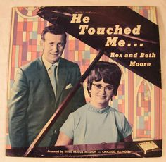 There seems to be an inordinate amount of him touching me on these old albums.