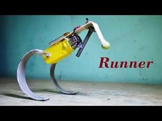 How to make a simple running / hopping robot - DIY Robot - YouTube