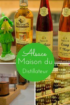 Idée sortie en Alsace - la Maison du Distillateur, musée et boutique de la distillerie Meyer pour tout apprendre sur la fabrication des eaux de vie, liqueurs et du whisky alsacien!