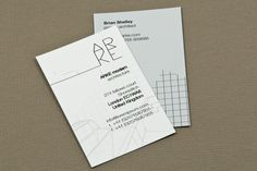 Architecture Firm Business Card Template