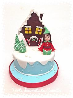 CHRISTMAS is COMING!!! - Cake by Torte decorate La Camilla