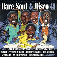 Funk-Disco-Soul-Groove-Rap: Compilation rare soul et disco 40
