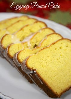 Eggnog Pound Cake - even eggnog haters will love this cake!