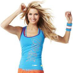 Cut Me Crazy Racerback | Zumba Fitness Shop  #Zumbawear #Zwag