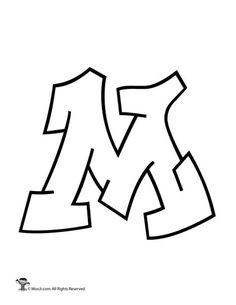 Easy Graffiti Letters, Graffiti Alphabet Styles, Graffiti Lettering Alphabet, Graffiti Text, Graffiti Names, Calligraphy Alphabet, Islamic Calligraphy, Bubble Letters Alphabet, Bubble Letter Fonts
