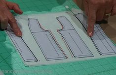 Free Mini Pattern Pieces by Nancy Zieman. How to Fit a Sewing Pattern with Nancy Zieman's Solving the Pattern Fitting Puzzle TV Show on Sewing With Nancy