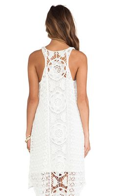 Free People Mystical Chemical Lace Dress ... my soon to be swimsuit coverup :)