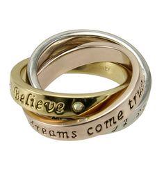 Disney Quote Ring