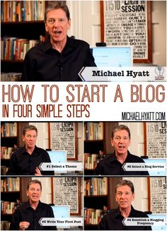 4 easy steps to starting a blog. [video]