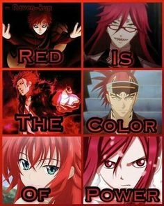 Yas OMG Color #4 is my favorite by far!! Erza!!!!! Gaara! Renji!