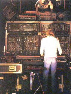 Klaus Schulze awesome sonic soundscapes - Timewind is fab.