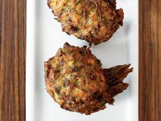 Herbed Zucchini Feta Fritters | These irresistible zucchini fritters are light and crispy and flecked with cheese and chopped herbs. They're a specialty at Lokanta Maya in Istanbul.