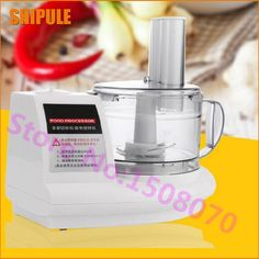 SHIPULE 2017 Multi functional cooking machine electric meat grinder mincer commercial garlic ginger stir stuffing machine