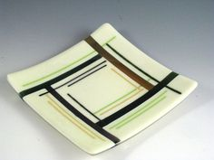 glass fused salad bowl | Sunflower Glass Studio | Sunflower Glass Studio | Fused Glass | Earth ...