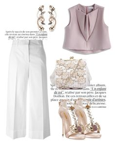 """""""Untitled #3050"""" by janicemckay ❤ liked on Polyvore featuring Thom Browne, Chicwish, Dsquared2 and Erickson Beamon"""