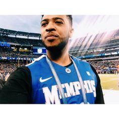 Game time! Let's go! #Hooligans #TigerNation #Memphis #ourtime