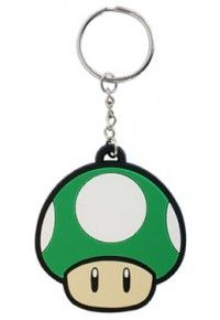 Red Mushroom Rubber Key Chain: From the popular video game series 'Super Mario Brothers' comes this high quality rubber keychain. 6 cm long cm with chain and ring) and 5 mm thick. Super Mario Bros, Super Mario Brothers, Mario Nintendo, Mario Bros., Key Chain Holder, Key Chain Rings, Rubber Keychain, Pulsar, Anime Merchandise