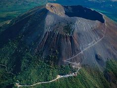 Mount Vesuvius (Monte Vesuvio) is a stratovolcano in the Gulf of Naples about 9 kilometres east of Naples. Mount Vesuvius is best known for its eruption in AD 79 which destroyed the city of Pompeii