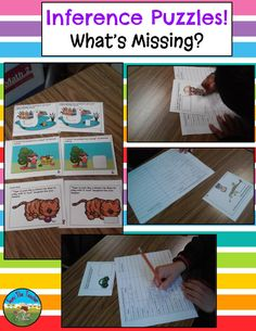 A fun and engaging way to build inference skills!