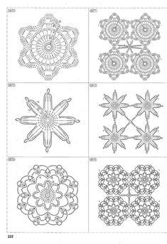 View album on Yandex. Crochet Flowers, Doilies, Shapes, Blog, Pattern, Crochet Coaster, Crochet Christmas, Yandex Disk, Crochet Ideas
