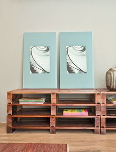 Use paletes, pranchas de skates e até gavetas velhas para fazer móveis - Casa