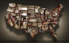 Ron Arad USA Bookshelf